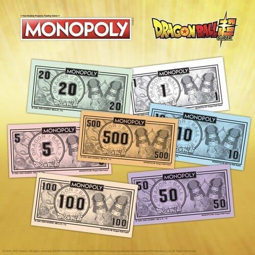 Dragon Ball Super billetes