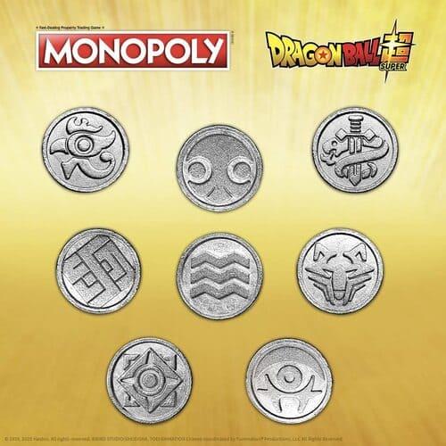 Dragon Ball Super monedas fichas