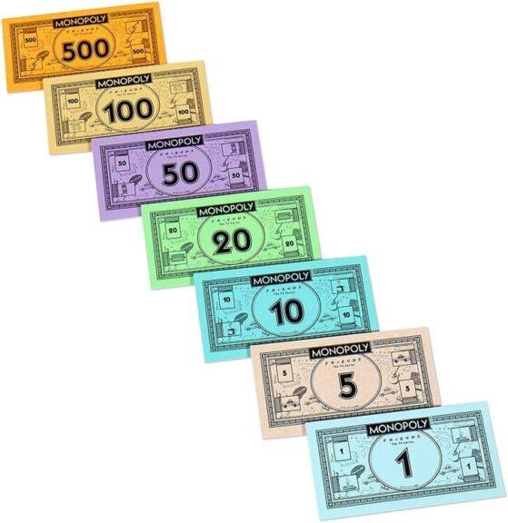 Monopoly Friends billetes