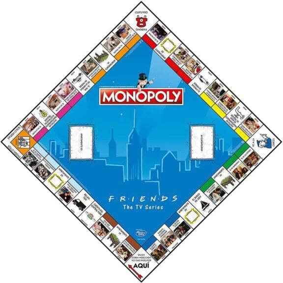 Monopoly Friends tablero detalle