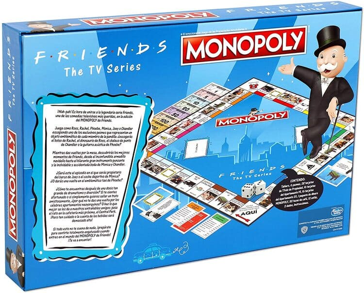 Monopoly Friends trasera