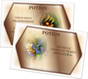 monopoly zelda cartas posion