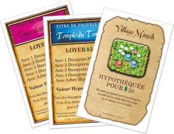 monopoly zelda tarjetas propiedades