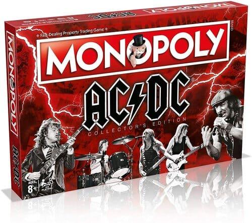 Portada Monopoly ACDC - Edición Coleccionista