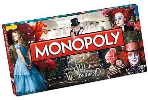 Portada Monopoly Alicia en el país de las Maravillas - Edición Coleccionista
