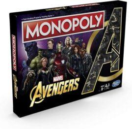 Monopoly avengers portada