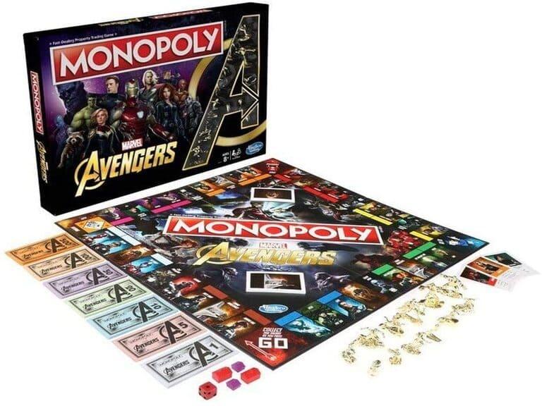 Monopoly avengers tablero