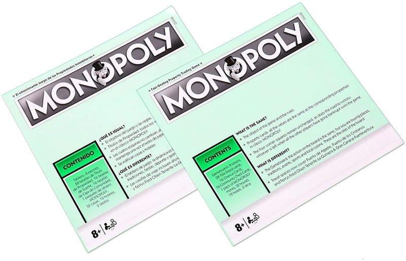 Monopoly canarias instrucciones