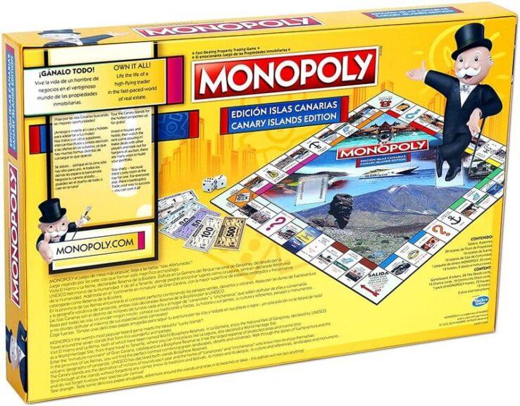 Monopoly Canarias reverso