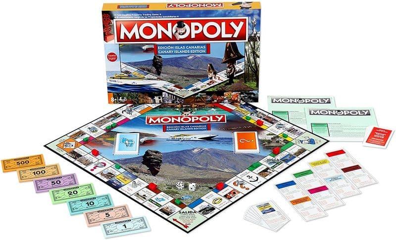 Monopoly Canaria Tablero