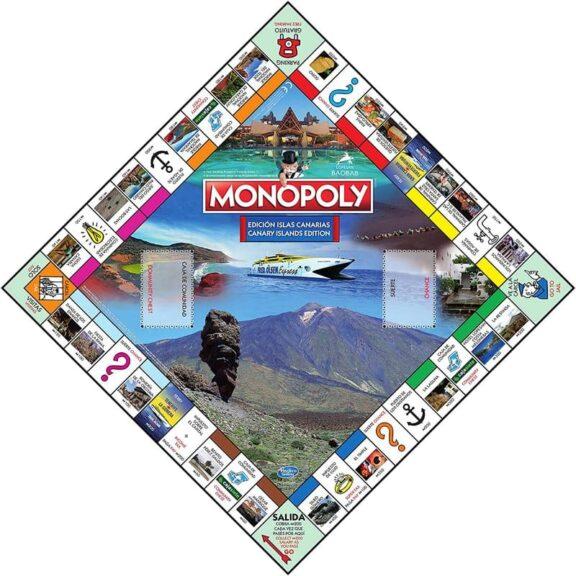 Monopoly Canaria tablero detalle