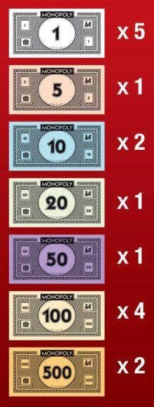 Billetes a repartir la banca