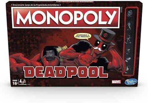 Portada Monopoly Deadpool - Edición Coleccionista