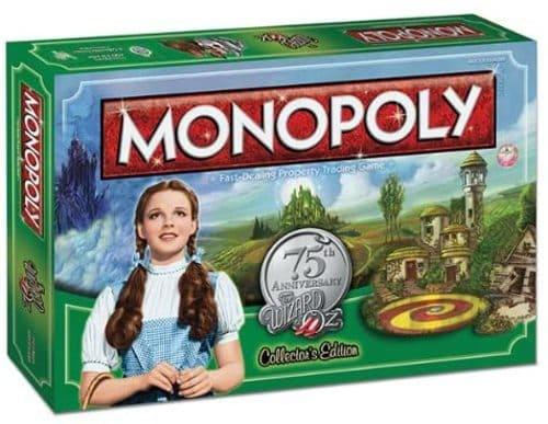 Portada Monopoly El Mago de OZ - Edición Coleccionista