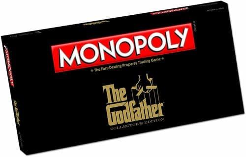 Portada Monopoly El Padrino - Edición Coleccionista