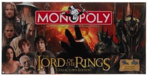 Portada Monopoly El Señor de los Anillos - Edición Coleccionista