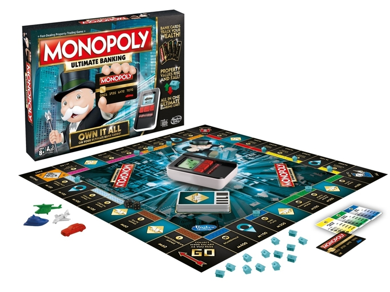 Monopoly Electrónico Tablero
