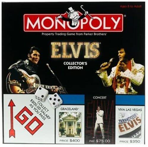 Portada Monopoly Elvis - Edición Coleccionista
