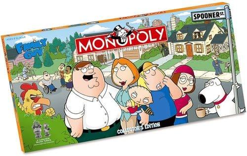 Portada Monopoly Padre de Familia - Edición Coleccionista