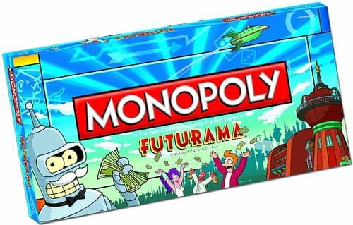 Portada Monopoly Futurama - Edición Coleccionista