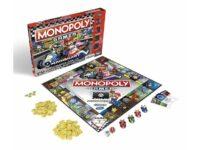 Monopoly Gamer Mario Kart Tablero