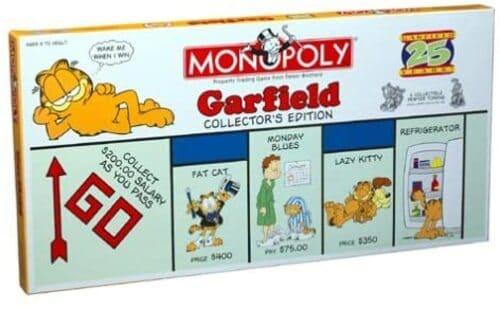 Portada Monopoly Garfield - Edición Coleccionista