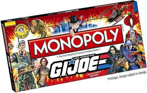 Portada Monopoly GI JOE - Edición Coleccionista