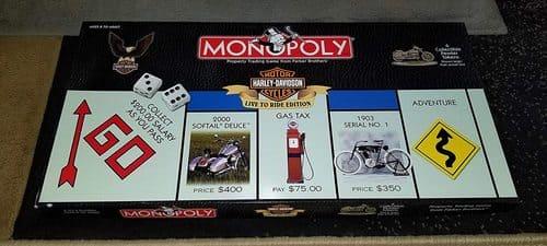 Portada Monopoly Harley Davidson - Edición Coleccionista