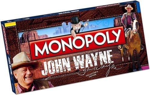 Portada Monopoly Hohn Wayne - Edición Coleccionista