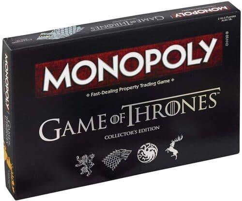 Portada Monopoly Juego de Tronos - Edición Coleccionista