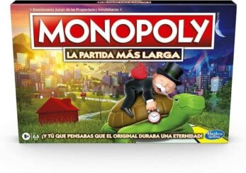 Monopoly la partida más larga portada