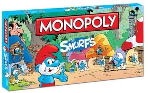 Portada Monopoly Los Pitufos - Edición Coleccionista