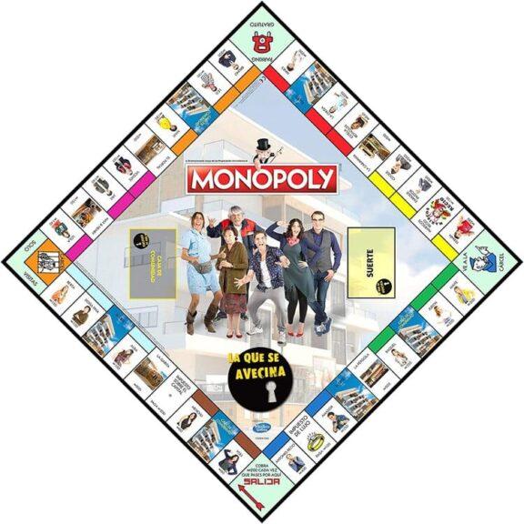 Monopoly lqsa tablero detalle