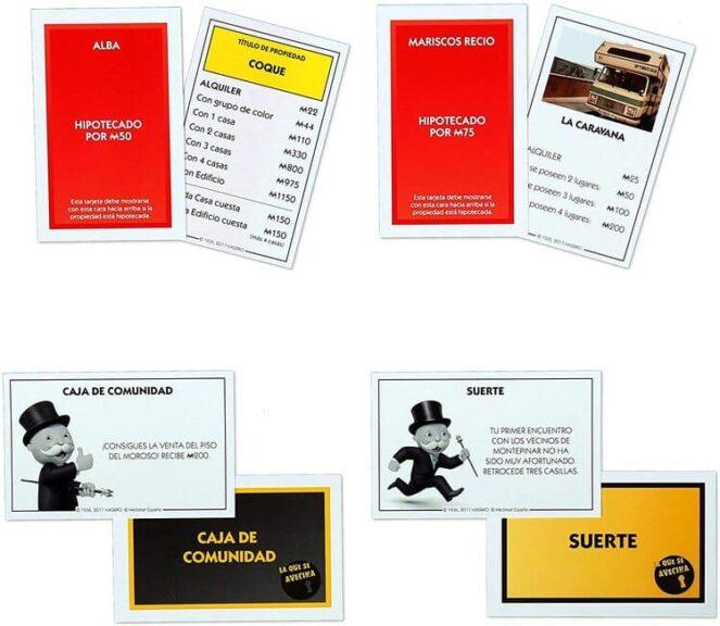 Monopoly lqsa tarjetas