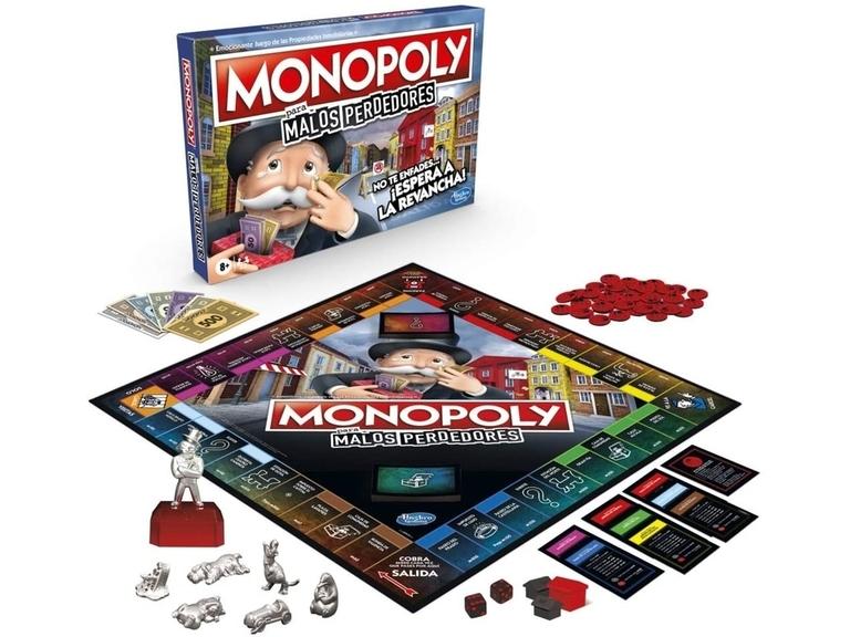 Monopoly Malos Perdedores Tablero