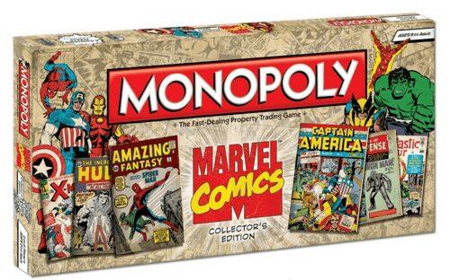 Portada Monopoly Marvel Comics - Edición Coleccionista