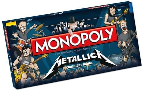 Portada Monopoly Metallica - Edición Coleccionista