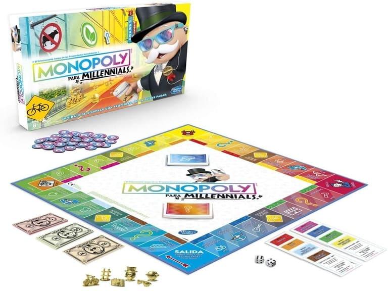 Monopoly Millennials Tablero