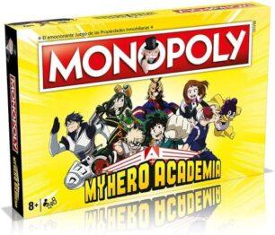 Monopoly My Hero Academia portada