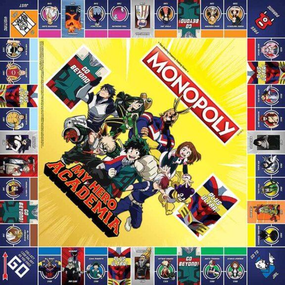 Monopoly My Hero Academia Tablero zoom