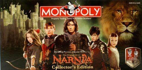 Portada Monopoly Las Crónicas de Narnia - Edición Coleccionista