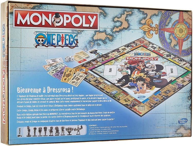 monopoly one piece reverso