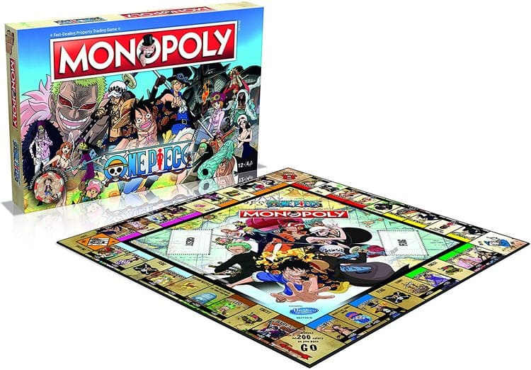 monopoly one piece tablero