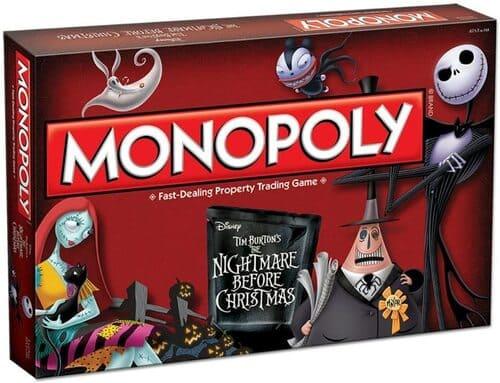 Portada Monopoly Pesadillas antes de Navidad - Edición Coleccionista
