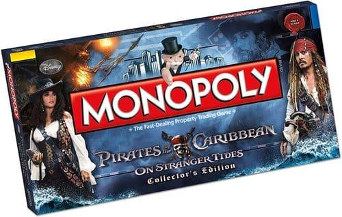 Portada Monopoly Pitaras del Cabibe Stranger Tides - Edición Coleccionista