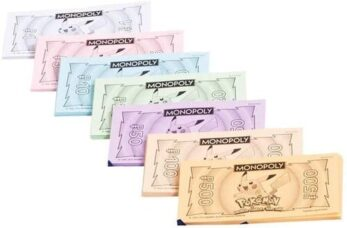 Monopoly Pokémon Billetes