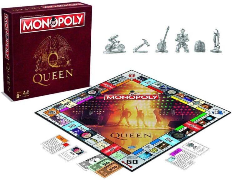 monopoly queen tablero