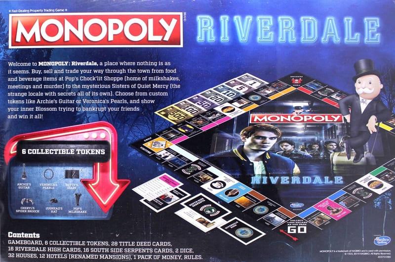 Monopoly Riverdale reverso