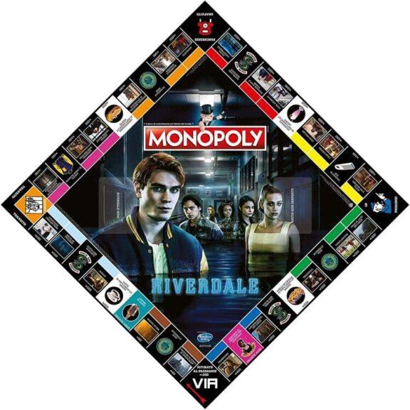 Monopoly Riverdale tablero detalle