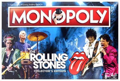 Portada Monopoly Rolling Stones - Edición Coleccionista